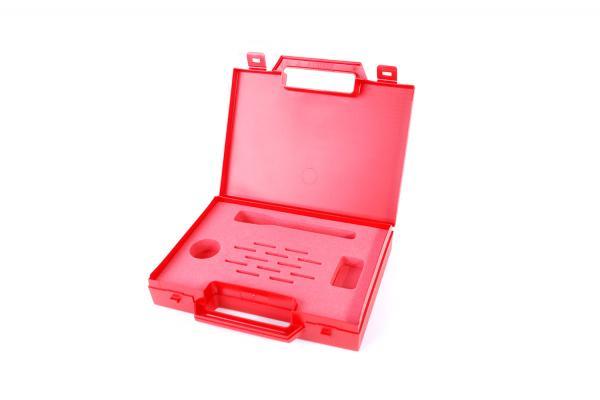 Malette rouge avec mousse de protection